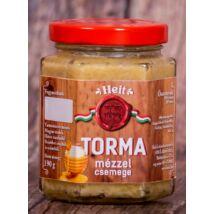 Hungaricum kézműves torma - MÉZZEL (csemege) 190 g