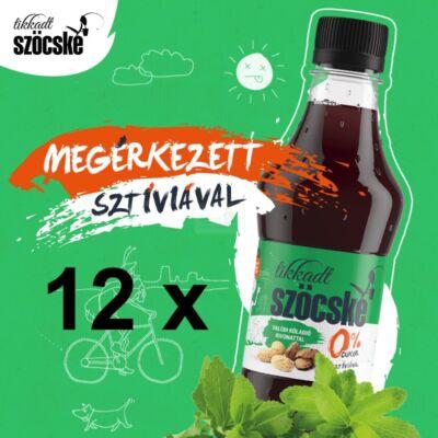 Tikkadt szöcske - A kóla magyarul  (0% cukor - Sztíviával)  (1 zsugor - 12x0,5 l)