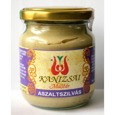 Kanizsai ASZALT SZILVÁS (cukormentes) mustár 200 g